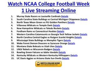 utah utes vs montana state bobcats live streaming ncaaf