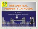 Available Best Residential Projects Amrapali Verona Heights.