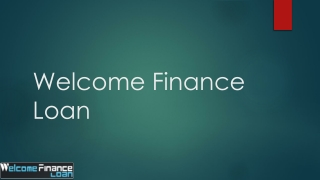 Welcome finance place for loan people
