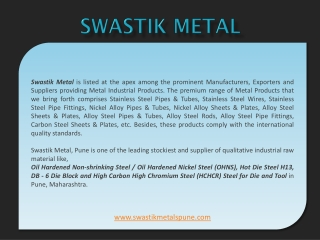 Mild, Alloy, Die and Tools Steels in Pune - Non Ferrous Meta