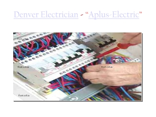 Experienced Denver Electricians at Affordable Price