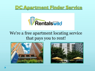 Best DC Apartment Finder