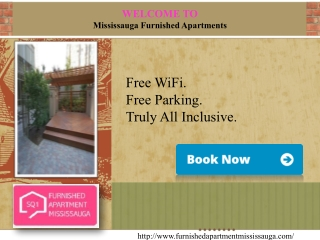 Welcome to -Furnished Apartment Mississauga