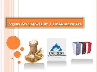 Domestic Flour Mill - J.J Manufacturers