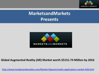 Augmented Reality Market (Virtual Reality)