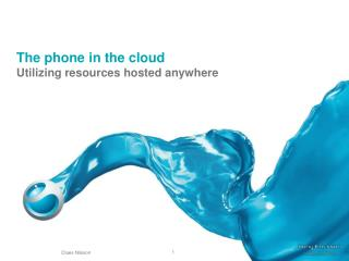 The phone in the cloud