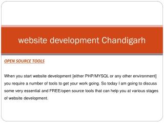 Website Development Chandigarh