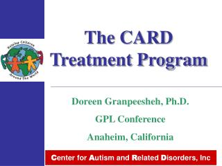 The CARD Treatment Program