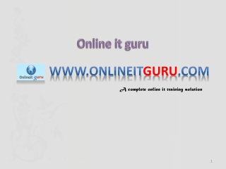 Core java online training | Online  Core Java  Training | On