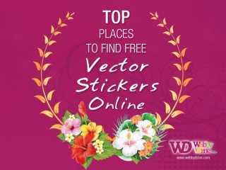 Best Place to Find Free Vector Stickers