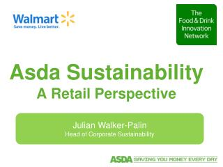 Asda Sustainability A Retail Perspective