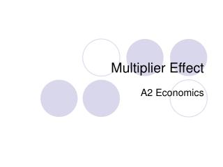 Multiplier Effect