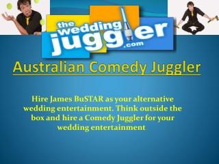 Australian Comedy Juggler