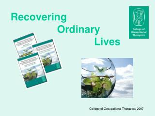 Recovering                   				Ordinary                               Lives