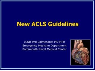 new acls guidelines