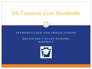 PA Common Core Standards