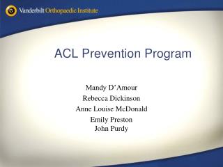 acl prevention program
