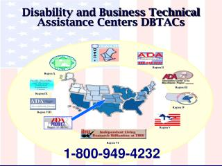 Disability and Business Technical Assistance Centers DBTACs