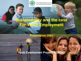 Sustainability and the case For Youth Employment Presentation  2002
