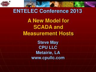 A New Model for SCADA and Measurement Hosts