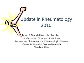 Update in Rheumatology  2010
