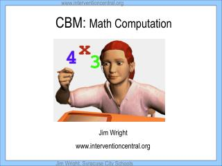 CBM:  Math Computation