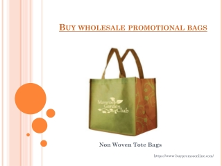 Buy Wholesale Promotional Products Online