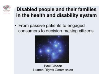 Disabled people and their families in the health and disability system