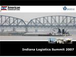 indiana logistics summit 2007