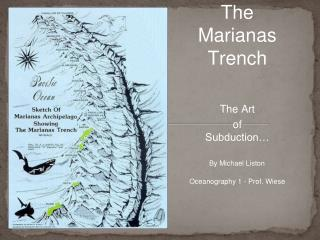 The Marianas  Trench