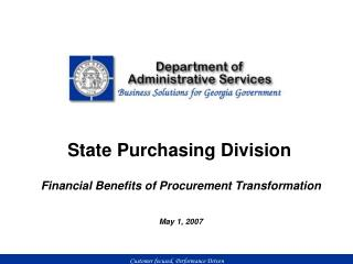 State Purchasing Division
