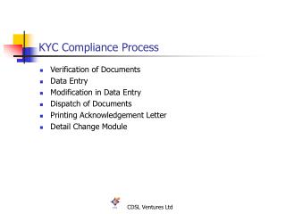 KYC Compliance Process