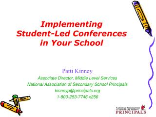 Implementing  Student-Led Conferences in Your School