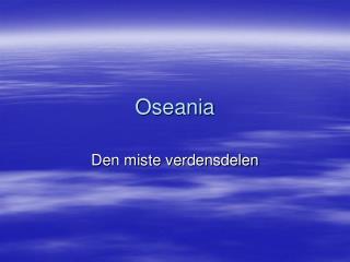 Oseania