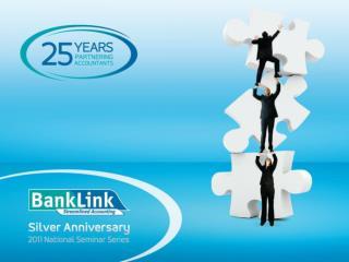 2011 BankLink Seminar Agenda
