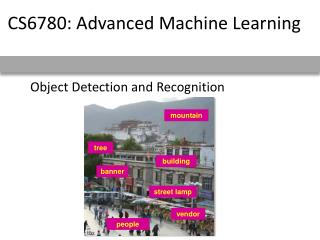 Object Detection and Recognition