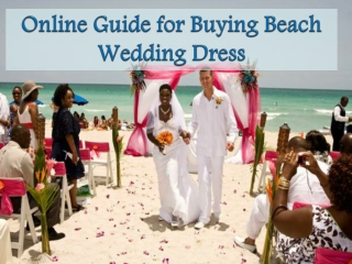 Collection of Unique Beach Wedding Dresses – Wedding Tropics