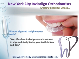 Dr.Barton Invisalign Orthodontist in New York