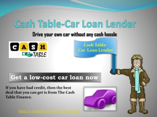 Car loan for people with bad credit | Sameday Car loan - Cas