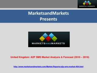 United Kingdom: A2P SMS Market Analysis & Forecast