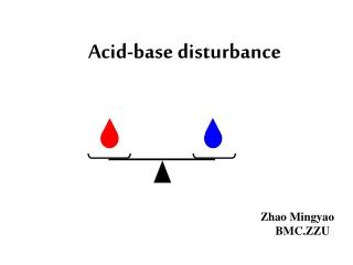 Acid-base disturbance