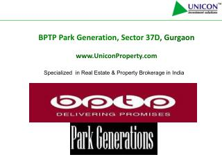 bptp park generation gurgaon - call @ 09999561111