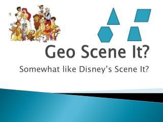 Geo Scene It?