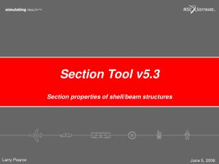 Section Tool v5.3