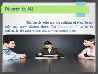 New Jersey Divorce Attorneys