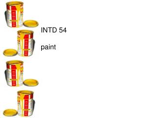 INTD 54 paint