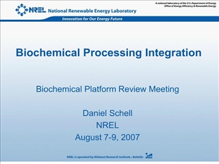 biochemical processing integration