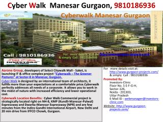 cyberwalk  manesar gurgaon, 9810186936, cyber walk  gurgaon