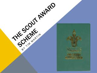 The scout award scheme