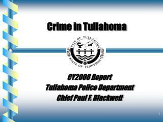 Crime in Tullahoma